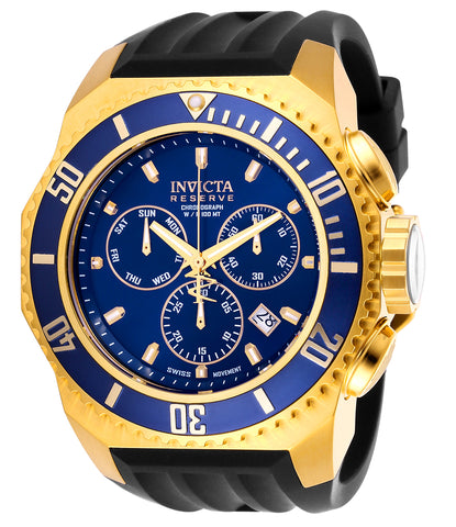 Invicta Men's 25732 Russian Diver Quartz Chronograph Blue Dial Watch