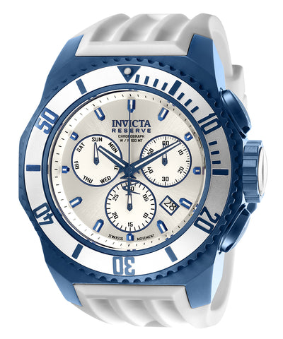 Invicta Men's 25733 Russian Diver Quartz Chronograph Silver Dial Watch