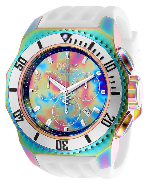 Invicta Men's 25735 Russian Diver Quartz Chronograph Rainbow Dial Watch