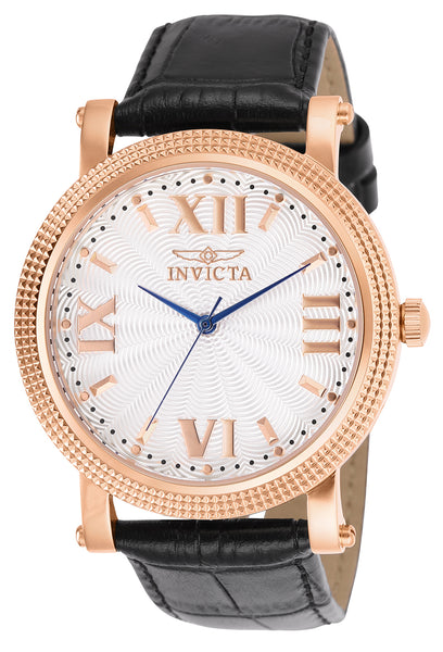 Invicta Men's 25757 Vintage Quartz 3 Hand White Dial Watch