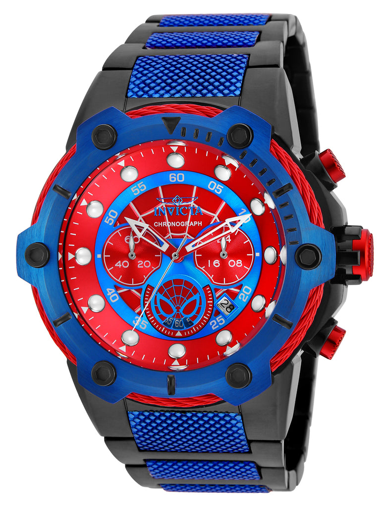 Invicta Men's 25782 Marvel Quartz Chronograph Red Dial Watch