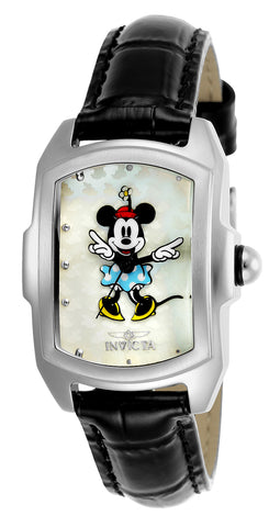 Invicta Women's 25789 Disney Limited Edition Quartz 3 Hand White Dial Watch