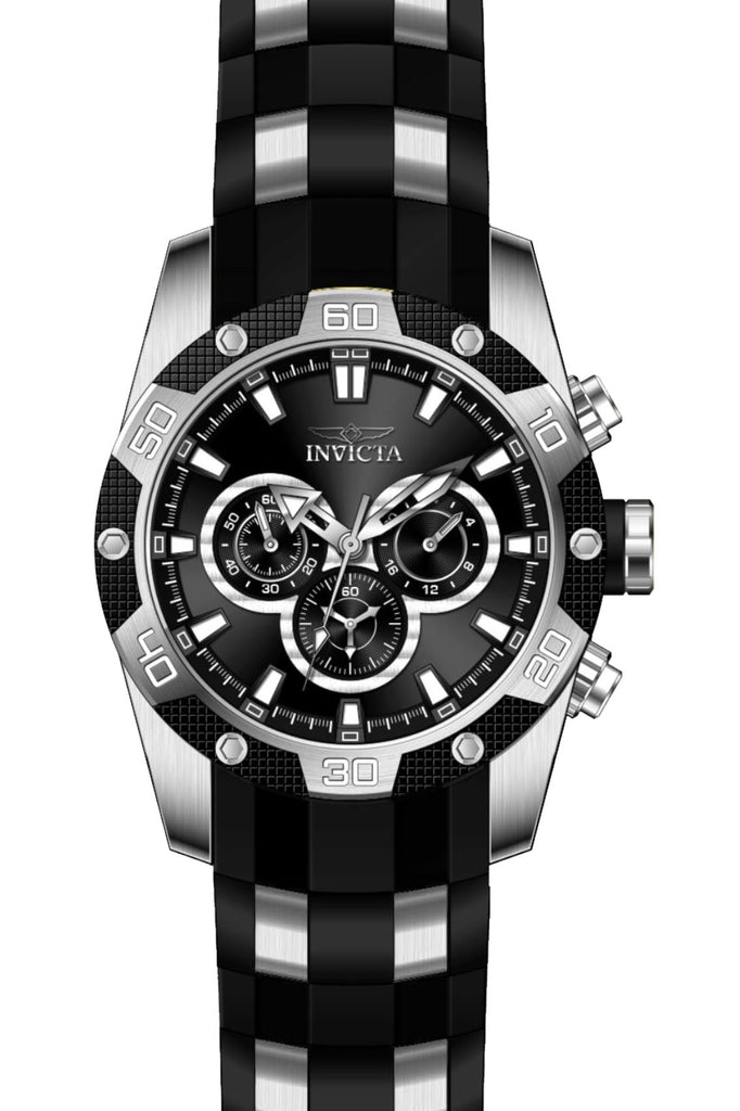 Invicta Men's 25832 Speedway Quartz Chronograph Black Dial Watch