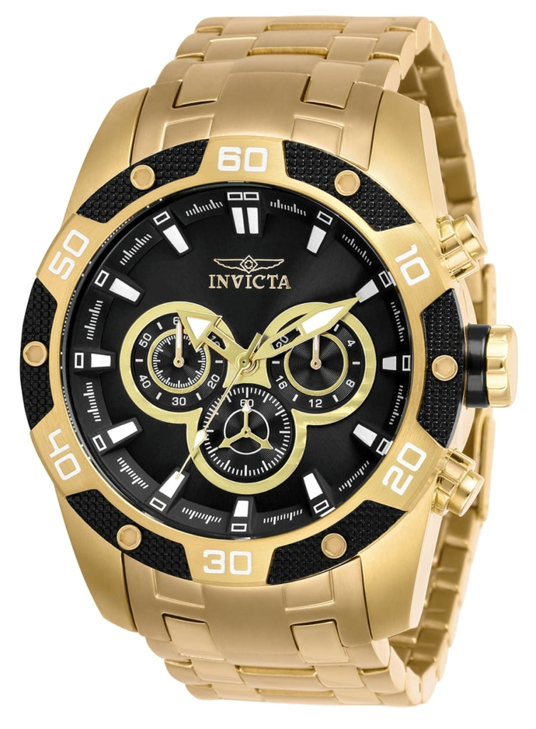 Invicta Men's 25840 Speedway Quartz Chronograph Black Dial Watch