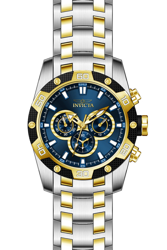 Invicta Men's 25843 Speedway Quartz Chronograph Blue Dial Watch