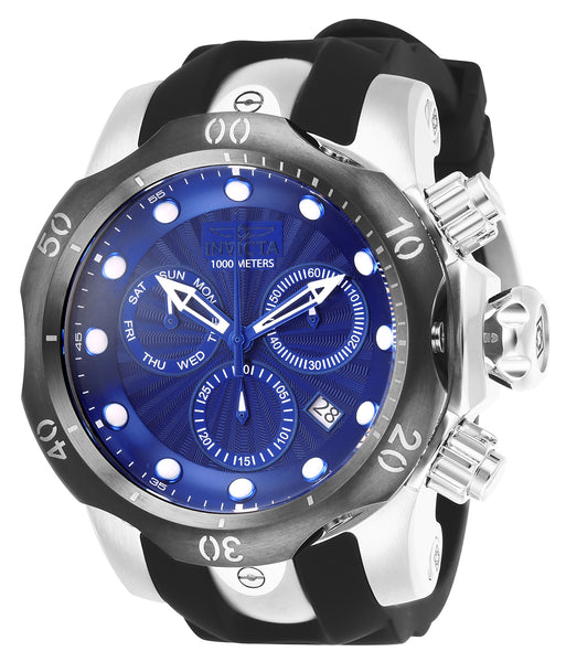 Invicta Men's 25901 Venom Quartz Chronograph Blue Dial Watch