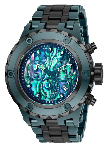 Invicta  Men's 25911 Reserve Quartz Chronograph Blue, Green Dial Watch