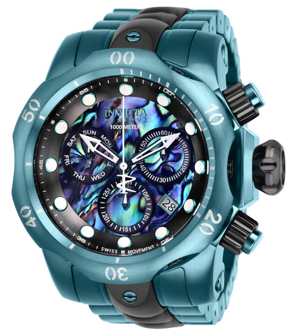 Invicta Men's 25916 Reserve Quartz Chronograph Blue, Green, Black Dial Watch