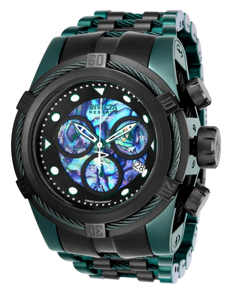 Invicta  Men's 25920 Reserve Quartz Chronograph Black, Blue, Green Dial Watch