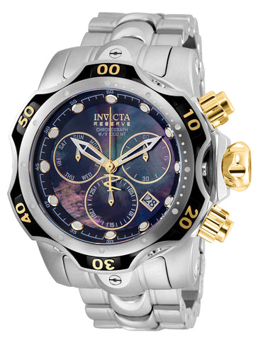 Invicta Men's 25977 Reserve Quartz Chronograph Black Dial Watch