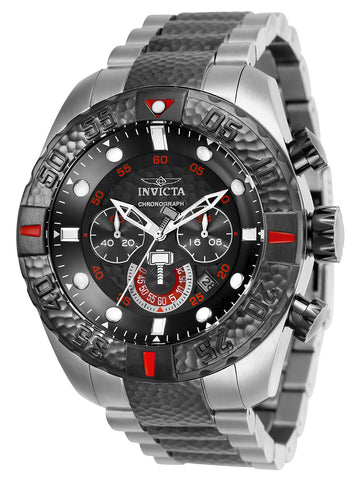 Invicta Men's 25984 Marvel Quartz Chronograph Gunmetal Dial Watch