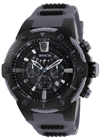 Invicta Men's 25991 Marvel Quartz Chronograph Black Dial Watch
