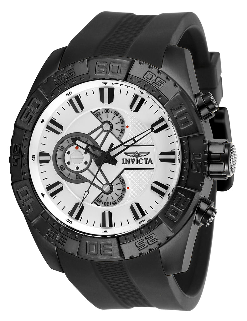 Invicta Men's 25995 Pro Diver Quartz Multifunction White Dial Watch