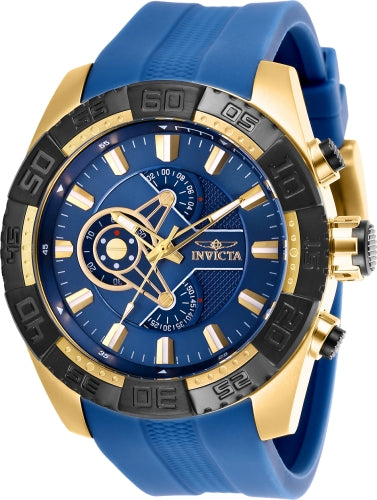 Invicta Men's 25996 Pro Diver Quartz Chronograph Navy Blue Dial Watch