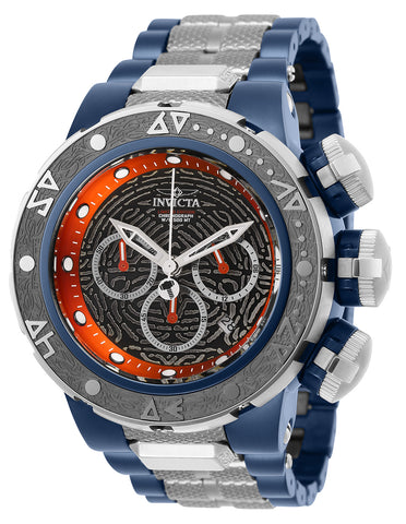 Invicta Men's 26005 Marvel Quartz 3 Hand Black, Red Dial Watch