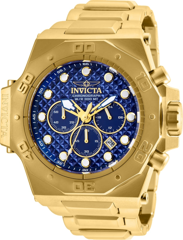 Invicta Men's 26041 Akula Quartz Chronograph Blue Dial Watch