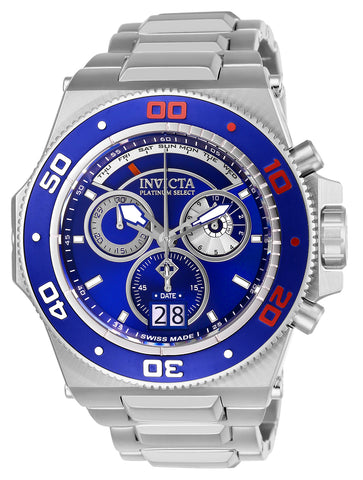 Invicta Men's 26048 Akula Quartz Chronograph Blue Dial Watch