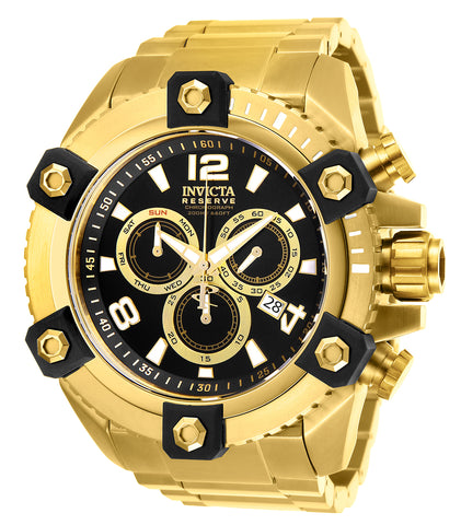 Invicta Men's 26110 Reserve Quartz Chronograph Black Dial Watch