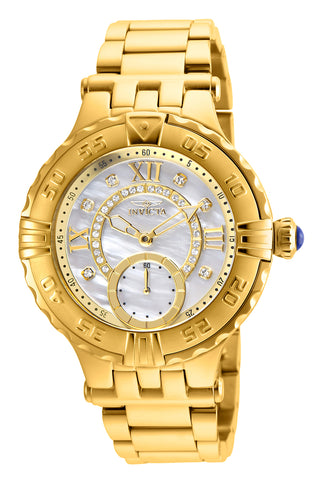 Invicta Women's 26138 Subaqua Quartz 2 Hand White Dial Watch