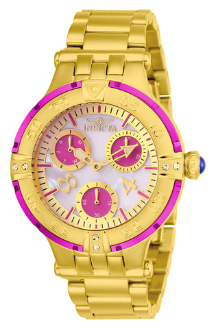 Invicta Women's 26141 Subaqua Quartz Chronograph White Dial Watch