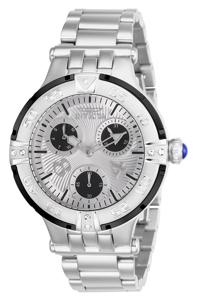 Invicta  Women's 26142 Subaqua Quartz Chronograph Silver Dial Watch