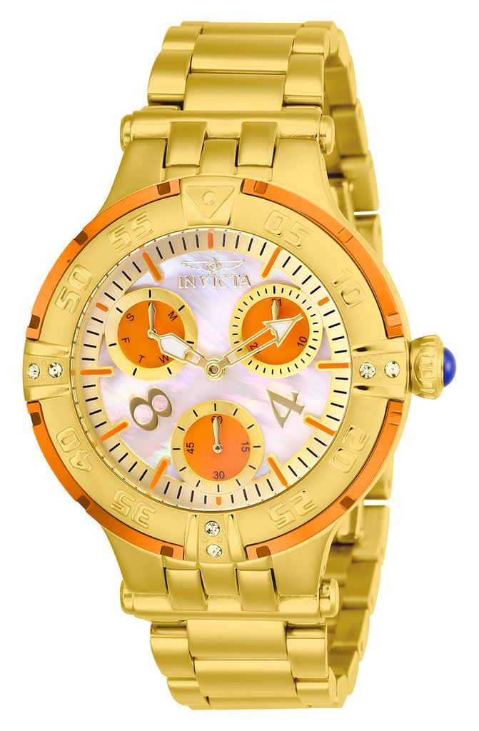 Invicta Women's 26144 Subaqua Quartz Chronograph White Dial Watch