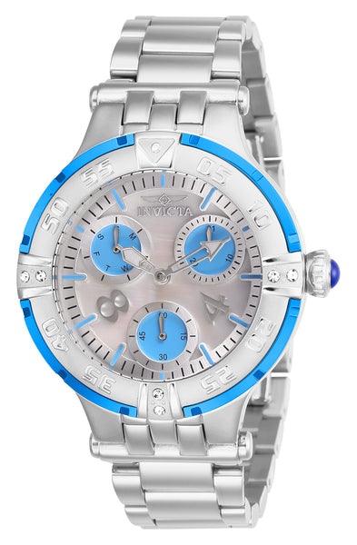 Invicta  Women's 26145 Subaqua Quartz Multifunction White Dial Watch