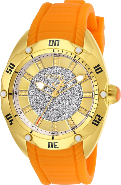 Invicta Women's 26149 Venom Quartz 3 Hand Gold Dial Watch
