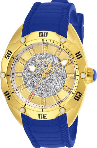 Invicta Women's 26153 Venom Quartz 3 Hand Gold Dial Watch