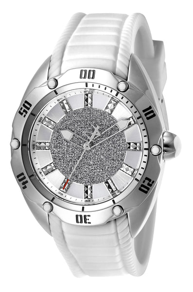 Invicta Women's 26154 Venom Quartz 3 Hand Silver Dial Watch