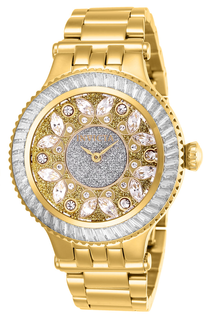 Invicta Women's 26155 Subaqua Quartz 2 Hand Silver Dial Watch