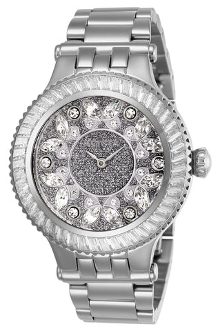 Invicta Women's 26157 Subaqua Quartz 2 Hand Silver Dial Watch