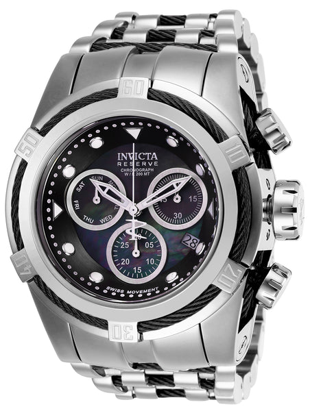 Invicta Men's 26188 Reserve Quartz Chronograph Black Dial Watch