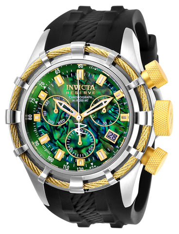 Invicta Men's 26193 Reserve Quartz Chronograph Green Dial Watch