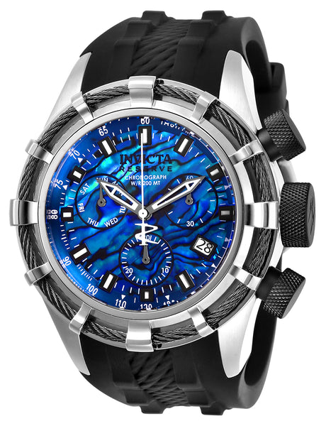 Invicta Men's 26195 Reserve Quartz Chronograph Blue Dial Watch