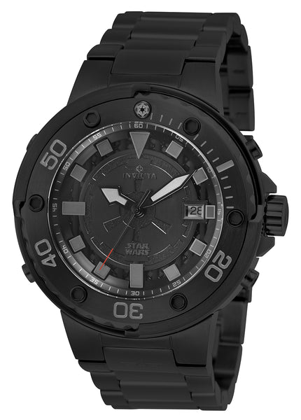 Invicta Men's 26202 Star Wars Automatic Multifunction Black Dial Watch