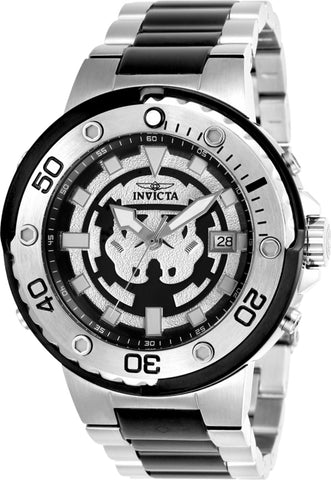 Invicta Men's 26203 Star Wars Automatic Multifunction Black Dial Watch