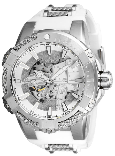 Invicta Men's 26222 Star Wars Automatic Multifunction Silver Dial Watch