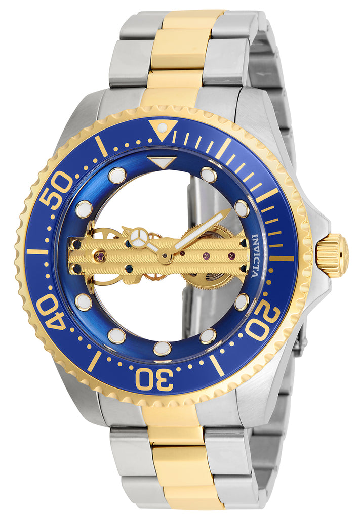 Invicta Men's 26243 Pro Diver Mechanical 2 Hand Blue Dial Watch