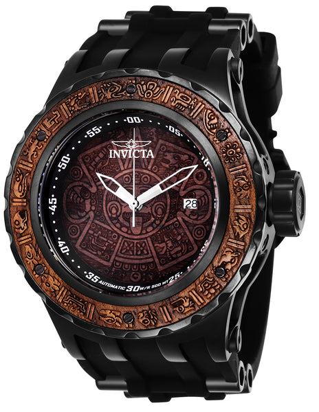 Invicta  Men's 26279 Subaqua Automatic 3 Hand Brown Wood Dial Watch