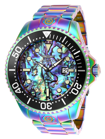 Invicta  Men's 26332 Pro Diver Automatic 3 Hand Green, Blue Dial Watch