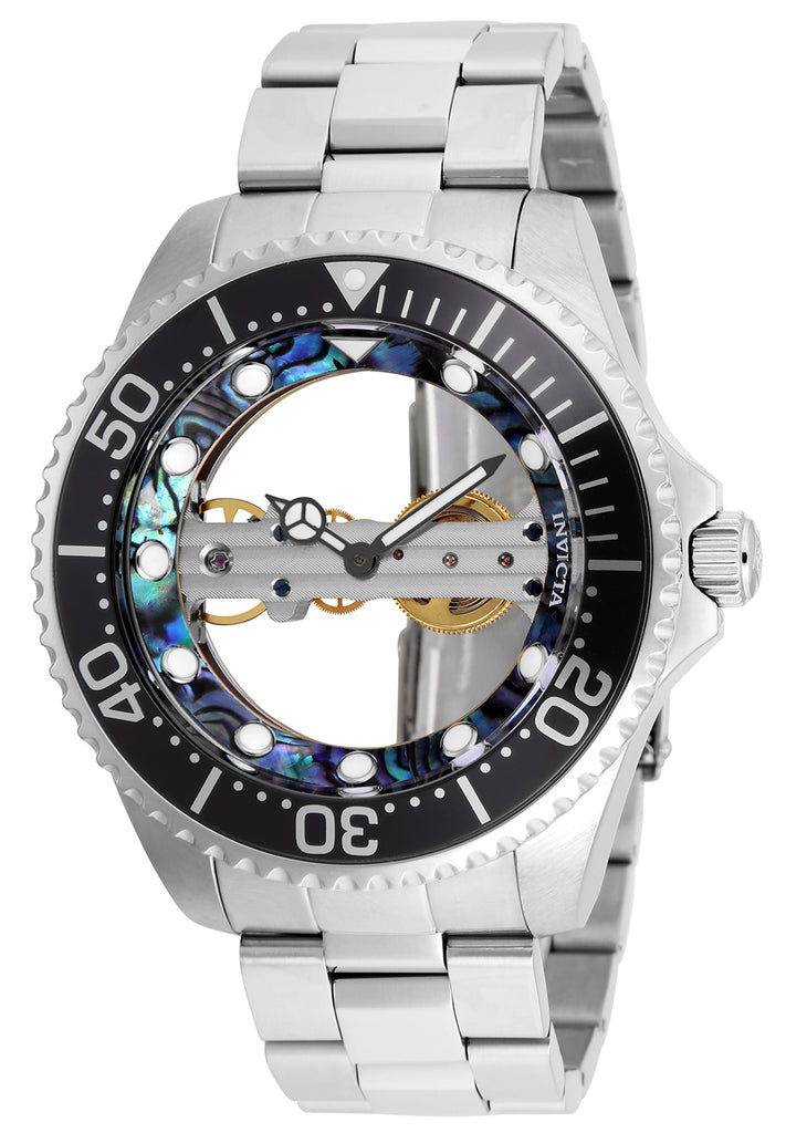Invicta Men's 26408 Pro Diver Mechanical 2 Hand Green, Blue Dial Watch