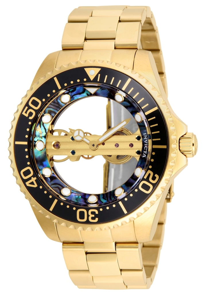 Invicta Men's 26410 Pro Diver Mechanical 2 Hand Green, Black Dial Watch