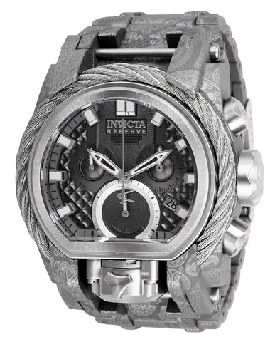 Invicta Men's 26437 Reserve Quartz 3 Hand Titanium Dial Watch