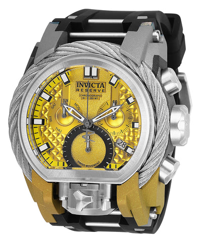 Invicta Men's 26444 Reserve Quartz Chronograph Yellow Dial Watch