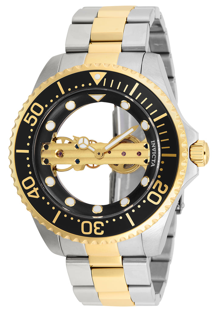 Invicta Men's 26479 Pro Diver Mechanical 2 Hand Black Dial Watch