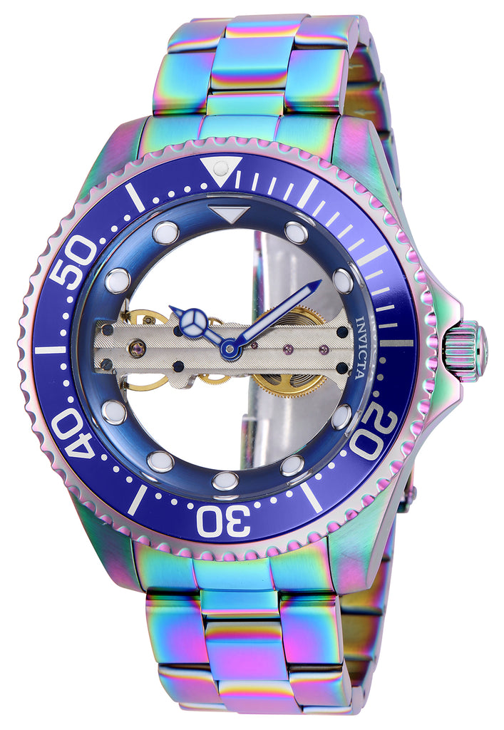 Invicta Men's 26480 Pro Diver Mechanical 2 Hand Blue Dial Watch