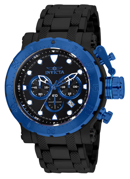 Invicta Men's 26506 Coalition Forces Quartz Chronograph Black Dial Watch