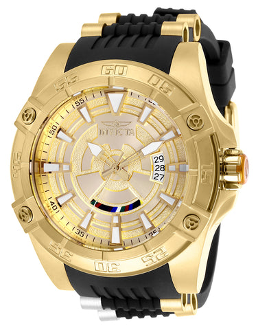 Invicta Men's 26521 Star Wars Automatic Multifunction Gold Dial Watch