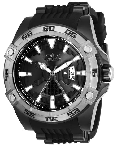 Invicta Men's 26523 Star Wars Automatic Multifunction Black Dial Watch